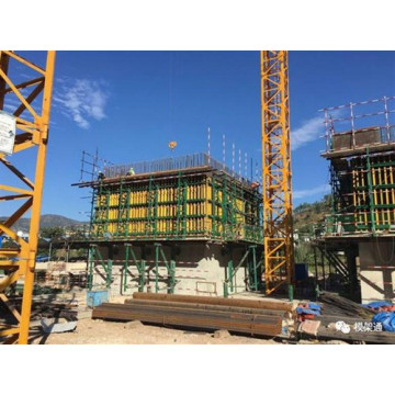Climbing Formwork System for House-Building Systems