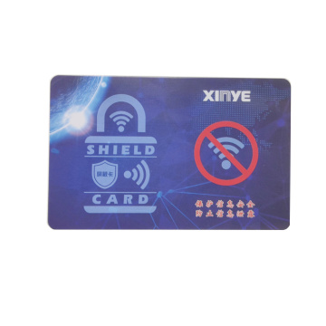 Security Protector RFID Blocking Card Logo Customized
