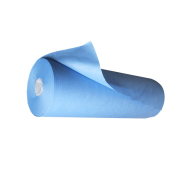 blue disposable film coated polypropylene medical spunbond nonwoven non-woven fabric pp cloth for masks