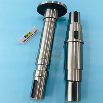 External grinding machining hardened steel shaft components