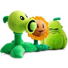 30cm Plants VS Zombies Plush Toys Cute Pea Shooter Sunflower Squash Soft Stuffed Plush Toys Doll Kids Gift