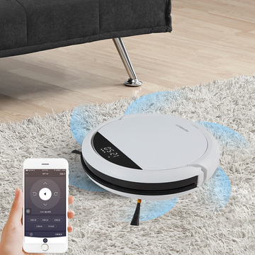 High performance robot vacuum cleaner