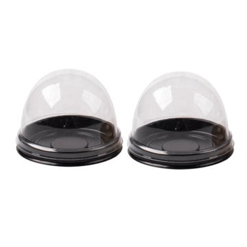 Plastic Clear Dome Mini Cupcake Cake Packaging Box