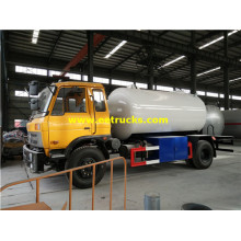 10cbm DFAC Propane Gas Transport Trucks