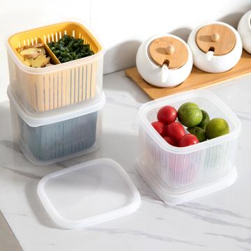 Kitchen Storage Box Fresh-keeping Box Chopped Green Onion Box Draining Onion Ginger Garlic Storage Box Kitchen Tool