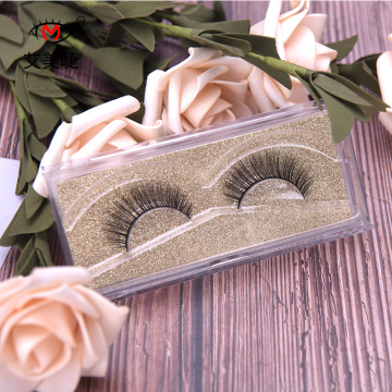 Private Label Strip Lash Synthetic False  eyelashes