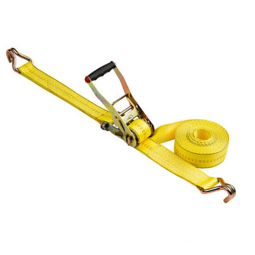 Custom Ratchet tie down Polyester Cargo Lashing