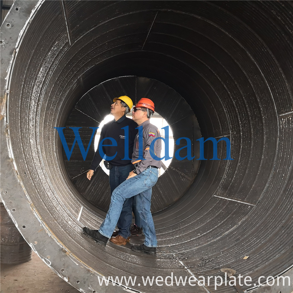 Chromium Carbide Bimetallic Wear Resistant Steel Plate 13