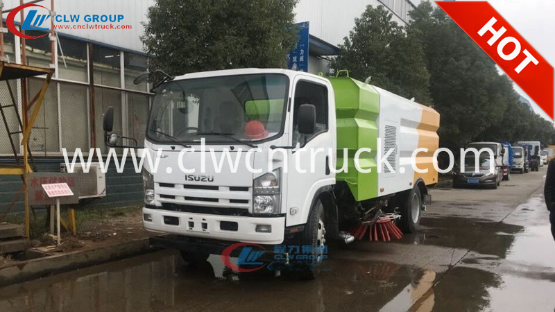 truck mounted vacuum sweeper