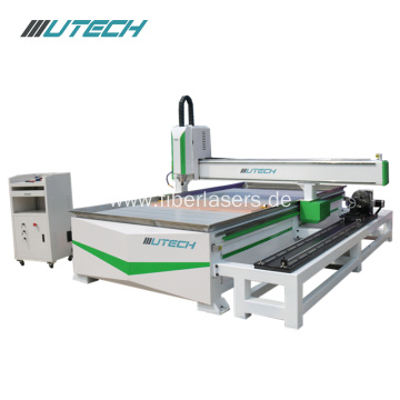 3d wood engraving machine with rotary