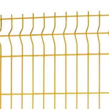 holland 3d curved wire mesh fence For Farm