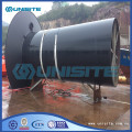 Water overflow pipe design