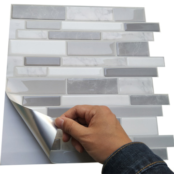 Marble Customized Stickers Tiles 3D Peel and Stick