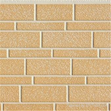 Metal insulation stone external wall cladding