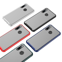 Soft TPU PC phone case for huawei p30lite