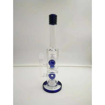 Fancy Perc Straight Glass Smoking Water Pipes