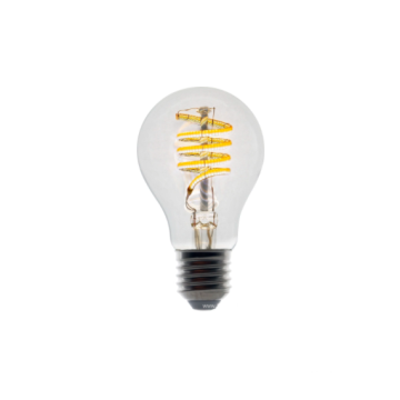 Smart Zigbee Light Bulb under the ceiling