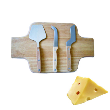 Cheese Board Set Includes 3Piece Cheese Knife Set