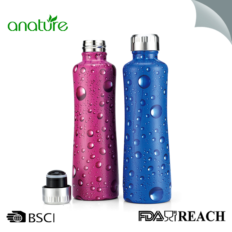 Premium Eco-Friendly Double Wall Vacuum Insulated Water Bottle
