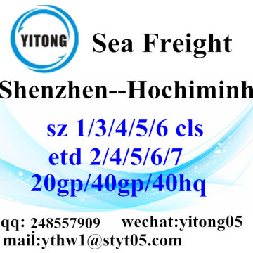 Shenzhen Sea Freight Shipping Agent to Hochiminh