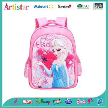 DISNEY FROZEN pink license school backpack