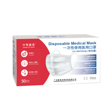 Adult disposable medical mask