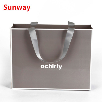 High quality paper shopping bags with handle