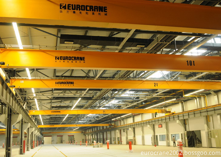 wireless remote control overhead crane 20t