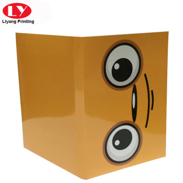 One pocket A4 paper file folder