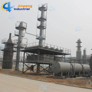 Continuous Working Principle Plastic Oil Purifier Machine