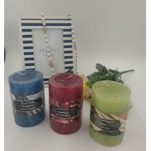 Good Scented Colored Pillar Candle