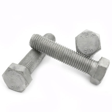 Hex Bolts Carbon Steel Grade 8.8 HDG DIN933