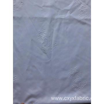 polyester fabric 3d emboss bamboo design for bedsheet