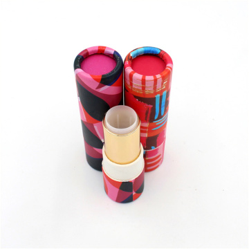 Wholesale Small Cylinder Packaging Lipstick Tube Box