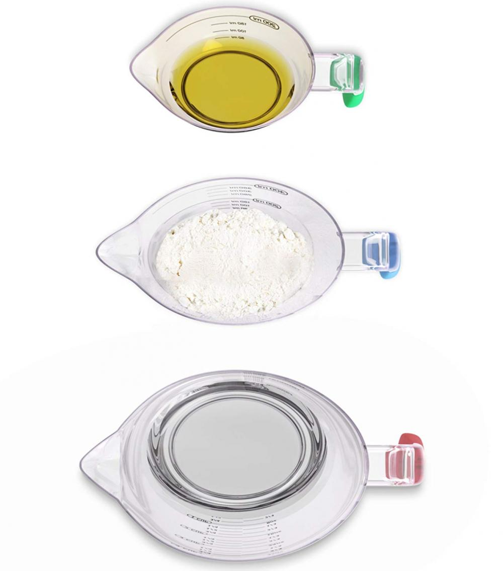 Stackble Measuring Cups With Spout