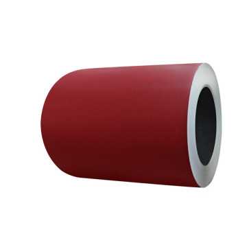 red color steel coil