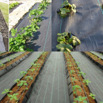 PP/PE woven weed control mats