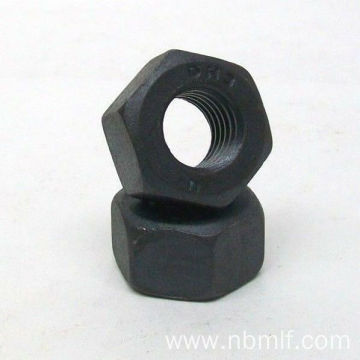 High Strength Black A563 Heavy Hex Nut