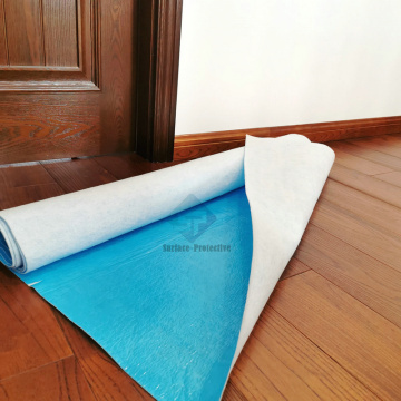 Protective Breathable Floor Mat To Protect Wood Floors