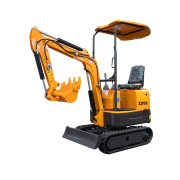 Euro five standard mini excavators XN08 XN12 XN16 XN18 XN20 escavator machines