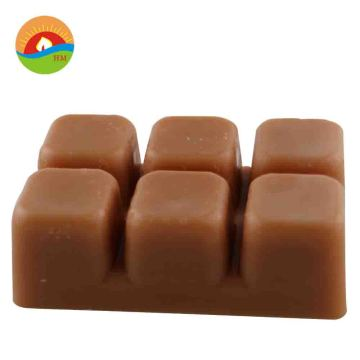 Wholesale Square Wax Tart Scented Wax Chocolate Candle