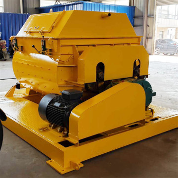 Twin shaft electric small js concrete mixer 500l
