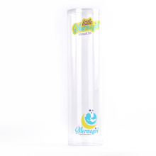 clear plastic food grade cylinder package with nice price