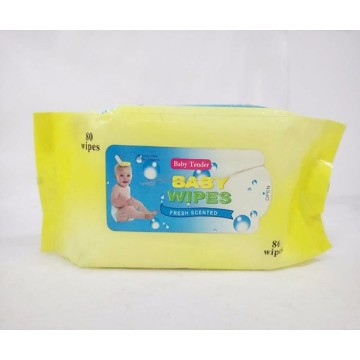 Alcohol Free Baby Wet Wipe Baby Cleaning Wipe