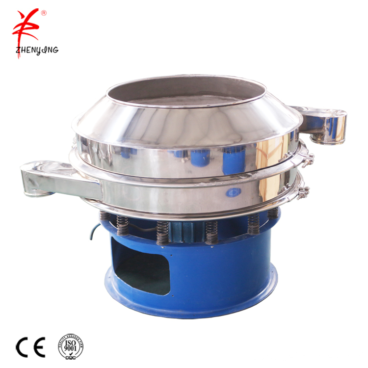 Vibrating screen filter sieve separation classifer machine