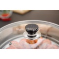 Stainless Steel Steamer Pot Soup Cooking Pot