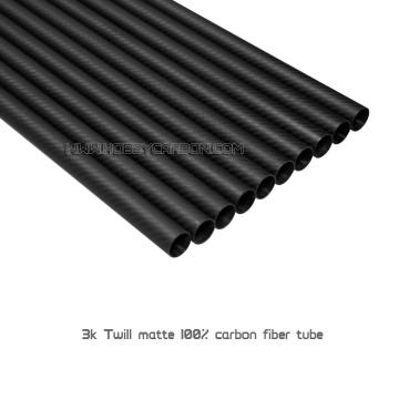 Customized 3K plain or twill Carbon Fiber Tube