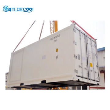 40' mobile blast freezer container