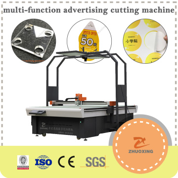 High Accuracy CNC Cutting Machine with Oscillating Knife