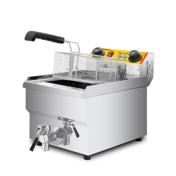 commercial deep fryer with CE